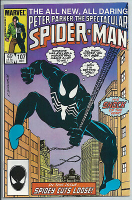 Spectacular Spider-Man #107 1st App of Sin-Eater (NM)