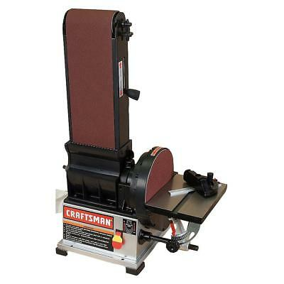 "Craftsman 3/4 HP Bench Top 6"" x 48"" Belt / 9"" Disc Sander"