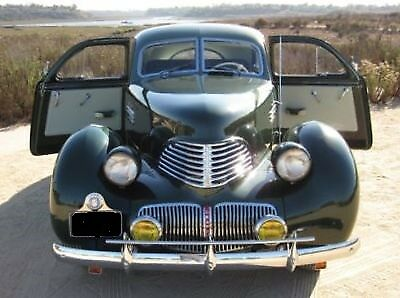 1941 Graham Hollywood cord  1941 Supercharged Graham Hollywood cord concourse restoration