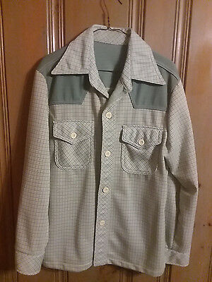 Vintage  Men's 1970s Leisure Suit Jacket sz 38