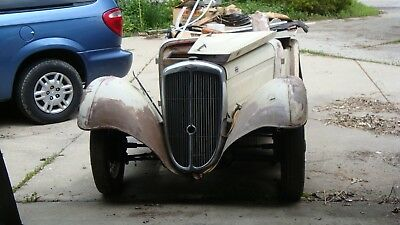 1937 BSA SCOUT ROADSTER 4 Seater  1937 SPORTY FRONT WHEEL DRIVE CLASSIC CAR 1937 BSA SCOUT  ROADSTER 4 SEATER