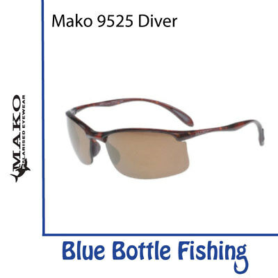 Mako Diver 9525 Brown Demi PC Bronze Mirror M19-P2S1