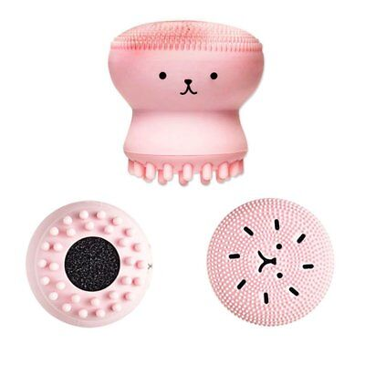 Octopus Style Face Cleanser Skin Care Facial SPA Skin Tool Cleansing Brush F5
