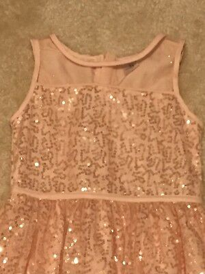 Carters Toddler Girl Dress 3T Holiday Party Formal Pink