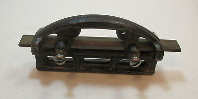 Vintage Cast Iron Hand Saw Jointer