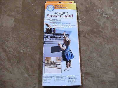 Prince Lionheart Adjustable Stove Guard Baby Toddler Safety Cover #0089 NEW NIB
