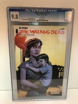 WALKING DEAD #132 CGC 9.8 NM 1st appearance of Alpha IMAGE Comics