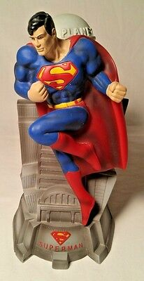 Superman Daily Planet Coin Bank COLLECTABLE Rare - MAN OF STEEL - 2003 DC COMICS