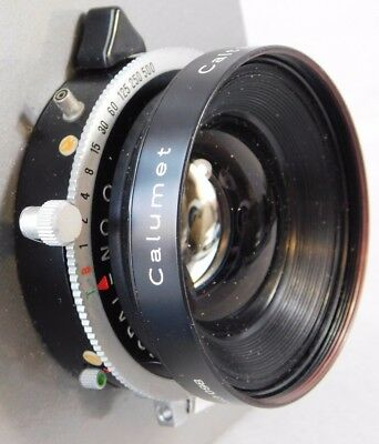 Vtg Calumet Caltar Type S 135mm f:5,6 Copal No. 0 Shutter Germany Camera Lens