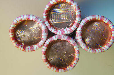 Bu Original Bank Wrapped Roll 2000-P Lincoln Memorial Cents