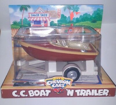 Chevron Cars CC Boat 'N Trailer  (NEW IN PACKAGE)
