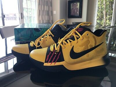 Kyrie Irving 3 MM Bruce Lee Special Edition Shoes size 8.5