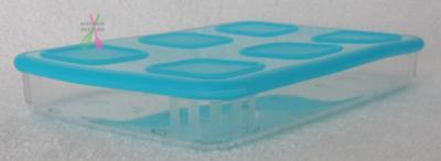 Tupperware Clear Mates Large Rectangle #1 -685ml Blue -Set of 1 - New