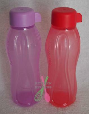 Tupperware 310ml Round Eco H2O Sports Bottle- Choose your Color- New
