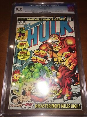 Incredible Hulk #169 CGC 9.8 With White Pages 1st Appearance Of The Bi-beast