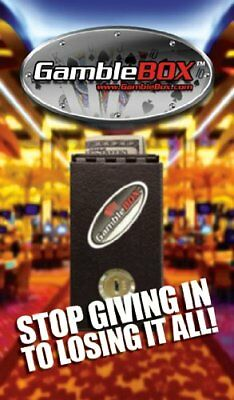 Gambling Personal Pocket Cash Drop Lock Box Safe Locks up Your Casino Wins to to