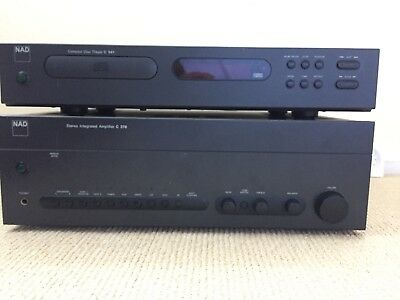 NAD C 370 2 Channel Amplifier and C541 CD Player