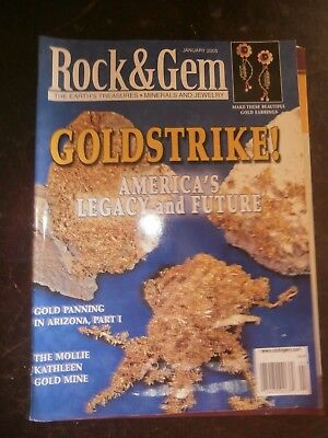 ROCK & GEM MAGAZINE January 2005