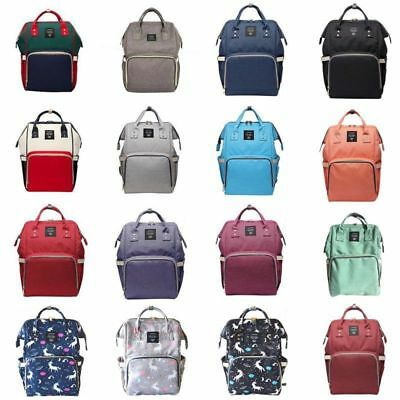 Multifunctional Mom Bag Nappy Diaper Mummy Bag Capacity Baby Backpack Waterproof