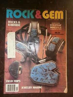 ROCK & GEM MAGAZINE May 1982