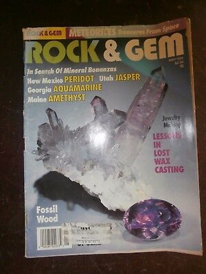 ROCK & GEM MAGAZINE May 1994