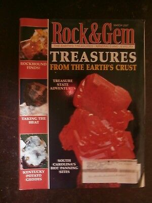 ROCK & GEM MAGAZINE March 2007