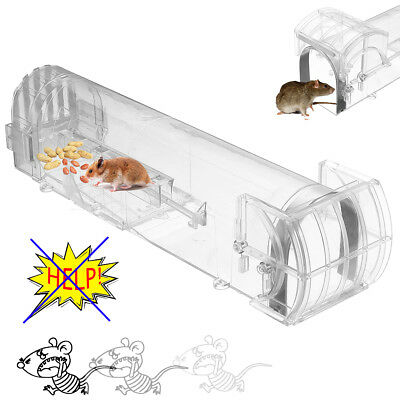 Humane Rat Trap Cage Animal Pest Rodent Mice Mouse Control Live Bait Catch