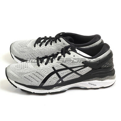 ... ASICS GEL-KAYANO 24 (2E) Men s Running Shoes Silver Black Mid Grey ... a14ed6507