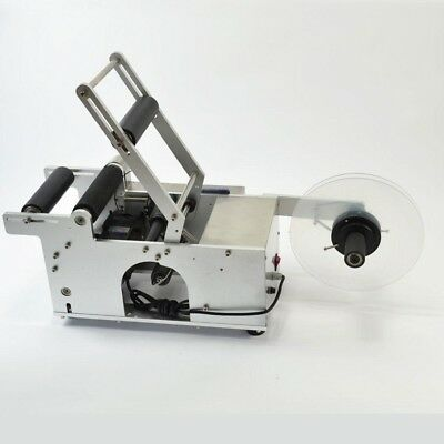 New Stainless Steel Semi-Automatic Round Bottle Labeling Machine Labeler Machine