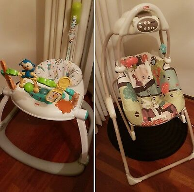 Fisher Price baby musical Swing PLUS musical Bouncer