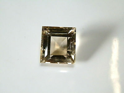 Natural citrine square shaped gemstone..12.3 Carat