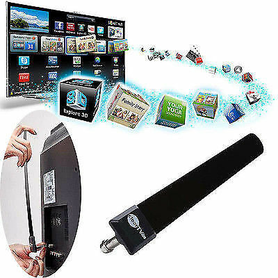 SM As Seen on TV Clear TV Key FREE HDTV TV Digital Indoor Antenna Ditch Cable