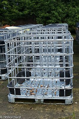 IBC Metal Cage Crate Log Store Empty No Tank