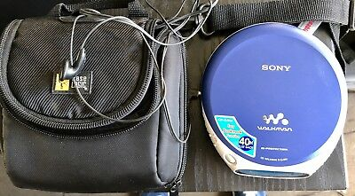 Sony Discman Walkman Portable CD Player