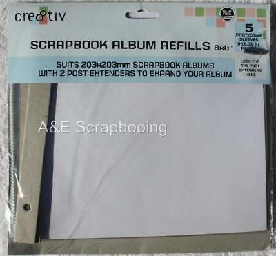"Scrapbook Album Refills 8x8"" by cre8tiv"