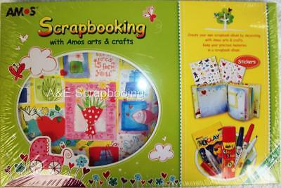 Amos Arts & Crafts Premium Scrapbooking Kit