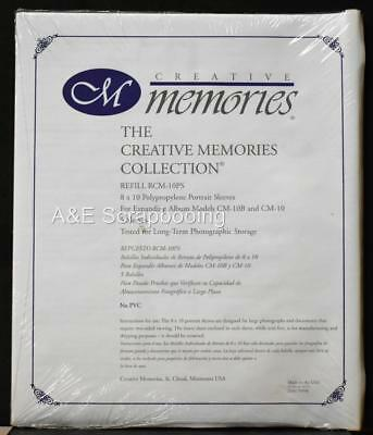 Creative Memories 8x10 Refill Portrait Sleeves