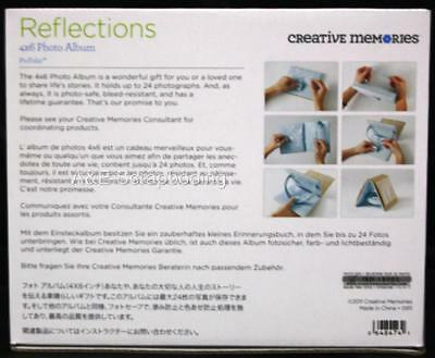 "Creative Memories REFLECTIONS PicFolio 6"" x 7"" Easel Minutes Album"