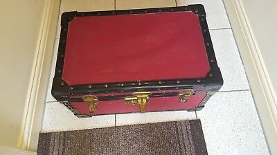 Vintage Small Red Trunk
