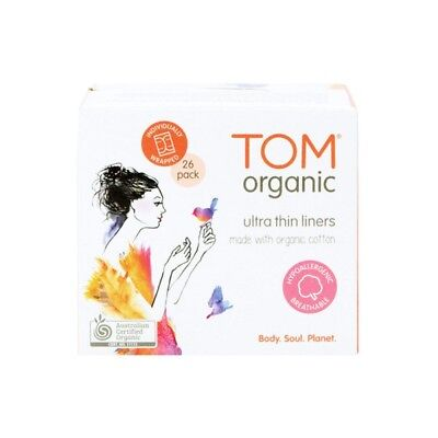 TOM ORGANIC Wrapped Liners Everyday x26