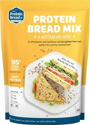 PROTEIN BREAD CO Bread Mix 6 Seeds 350g