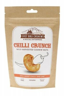 EAST BALI CASHEWS Cashew Nuts Chili 65g