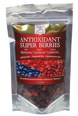DR SUPERFOODS Antioxidant Berries 125g