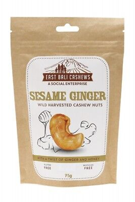 EAST BALI CASHEWS Cashew Nuts Sesame 65g