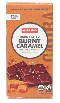 ALTER ECO Choc Dark Burnt Caramel 80g