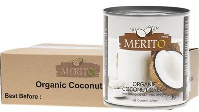 MERITO Coconut Cream 12x270ml