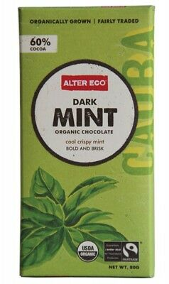 ALTER ECO Choc Dark Mint 80g