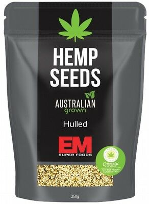 EM SUPER FOODS Aust Hemp Seeds 250g