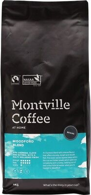 MONTVILLE COFFEE Woodford Beans 1kg