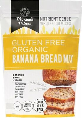 MONICAS MIXES Banana Bread Mix 400g